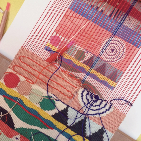 Commission a weaving