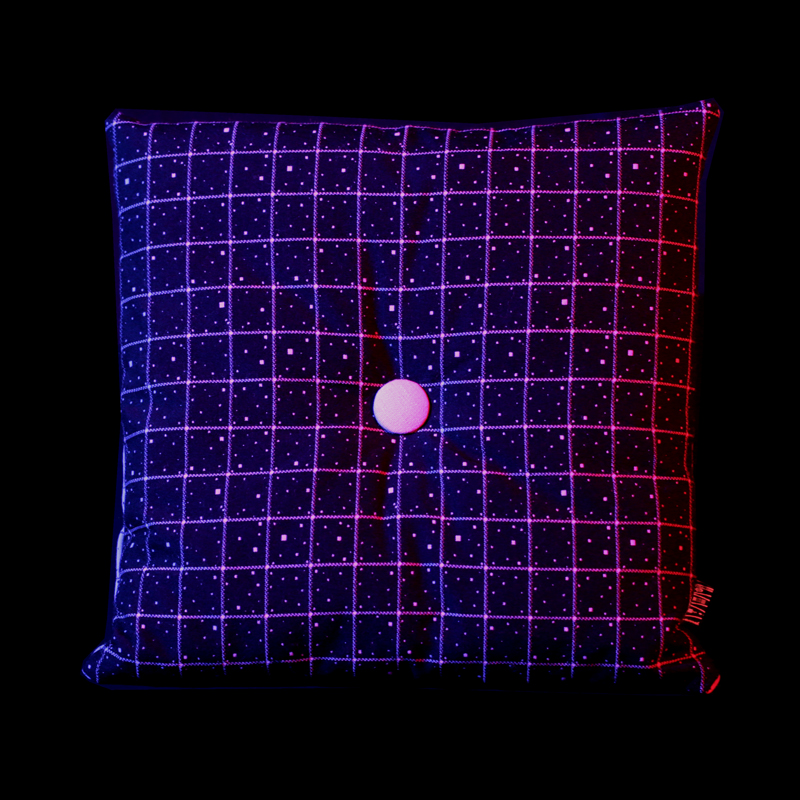 Fabric of Space-time seat cushion (black hole)