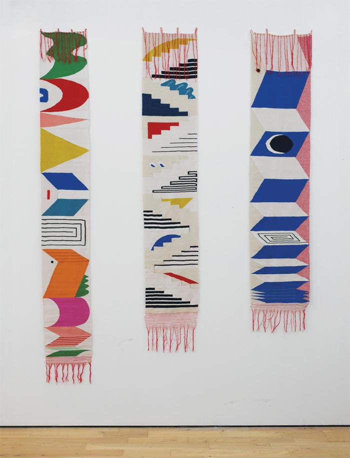 Triennale weaving series