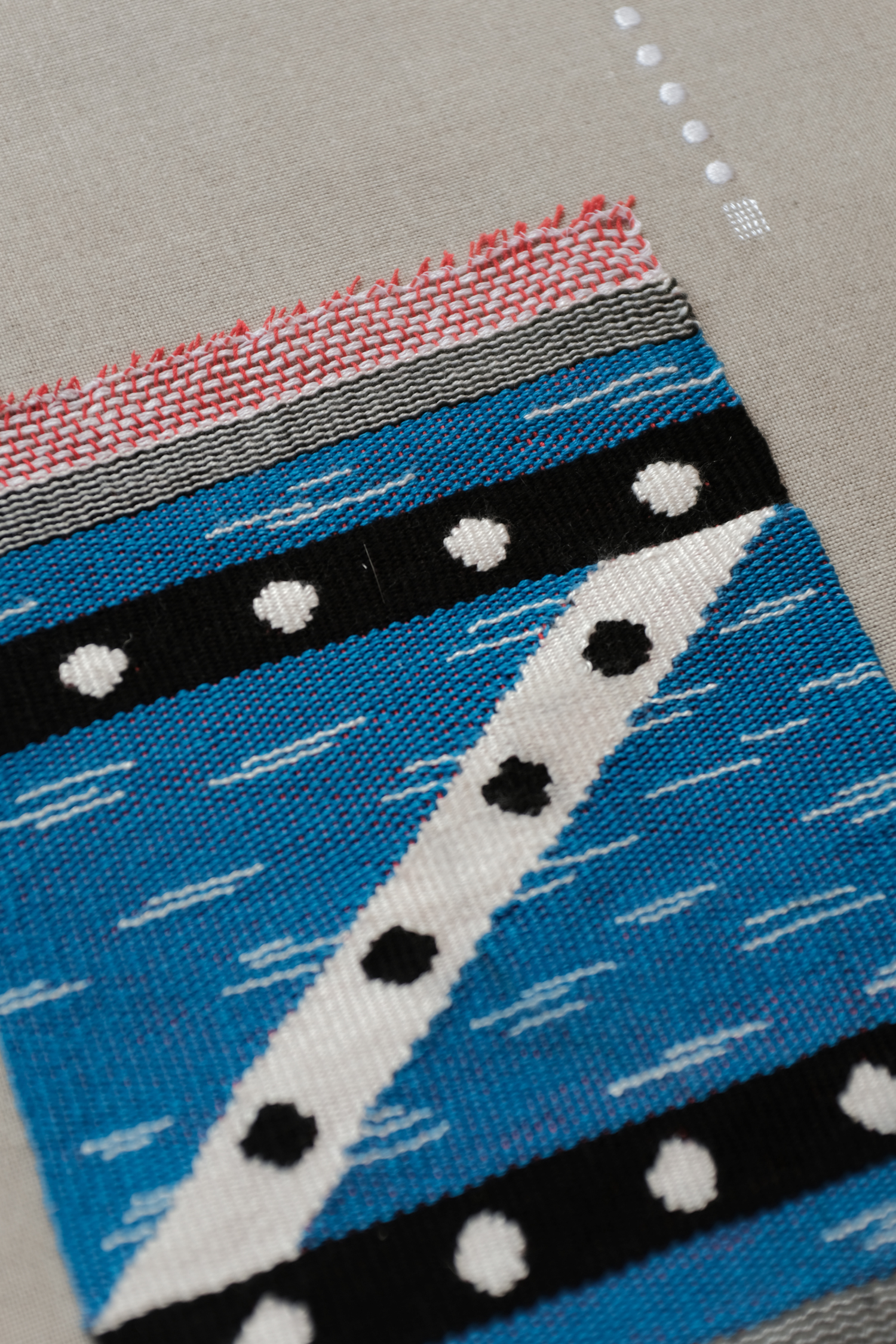 Baja Weaving series – Skull Scarf