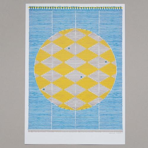 *NEW* Sun Screen risograph print