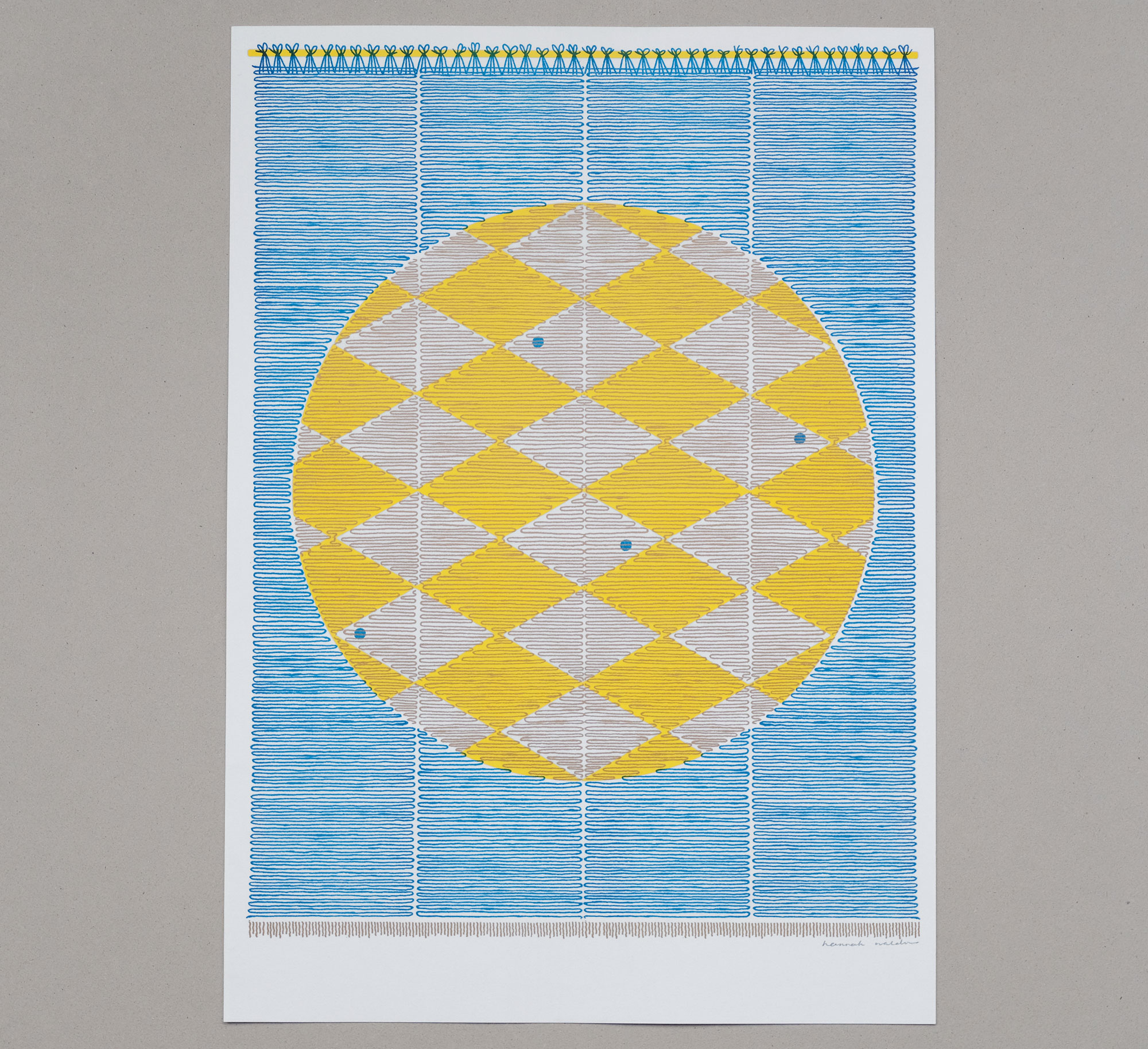 *NEW* Sun Screen risograph print